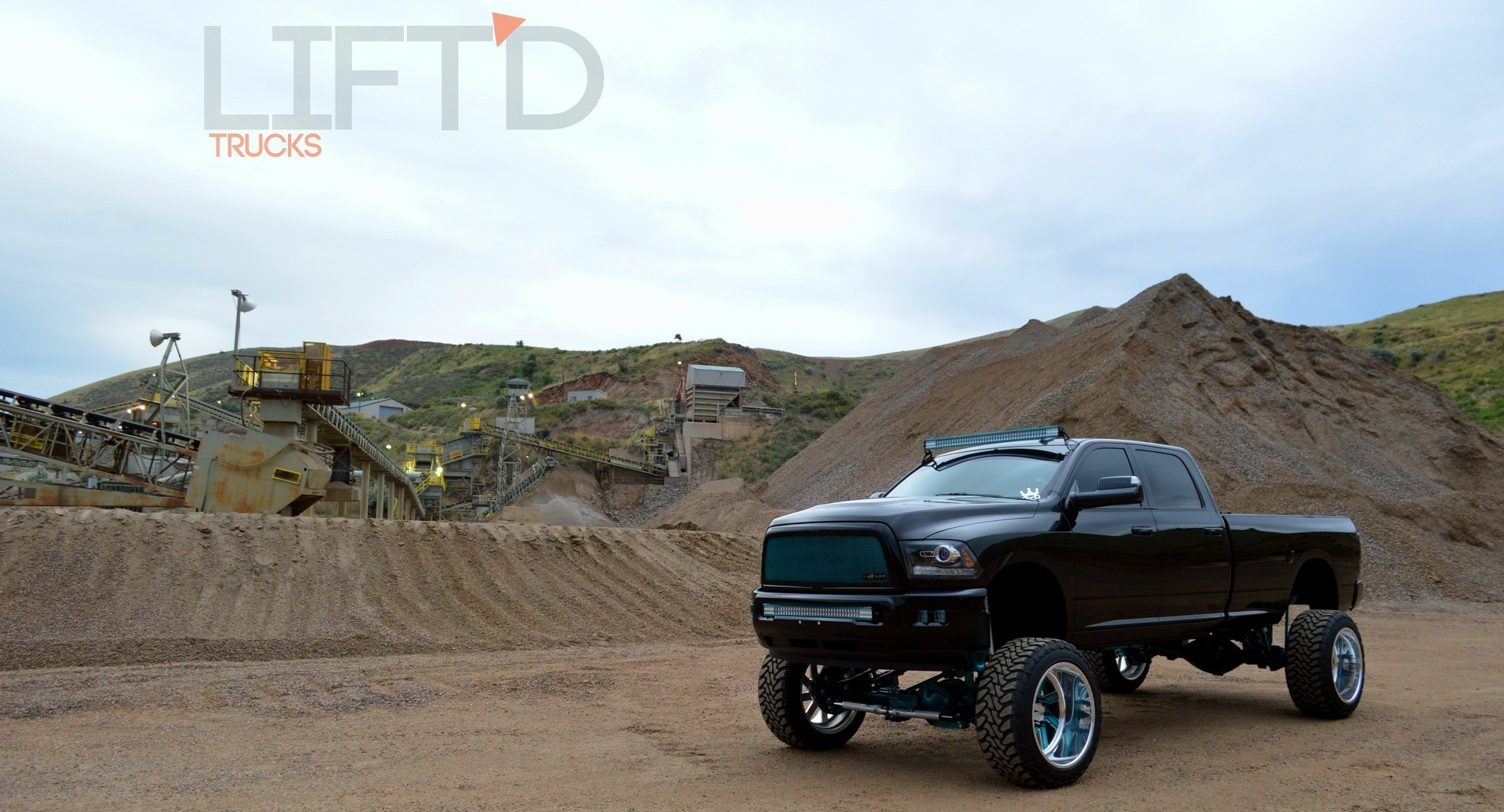 Mint chocolate mike lankfords high altitude 2014 ram 2500 lift the exterior lighting including a couple of rigid industries light bars two sets of rigids d2 duallies and under glow effects follow suit mozeypictures Gallery