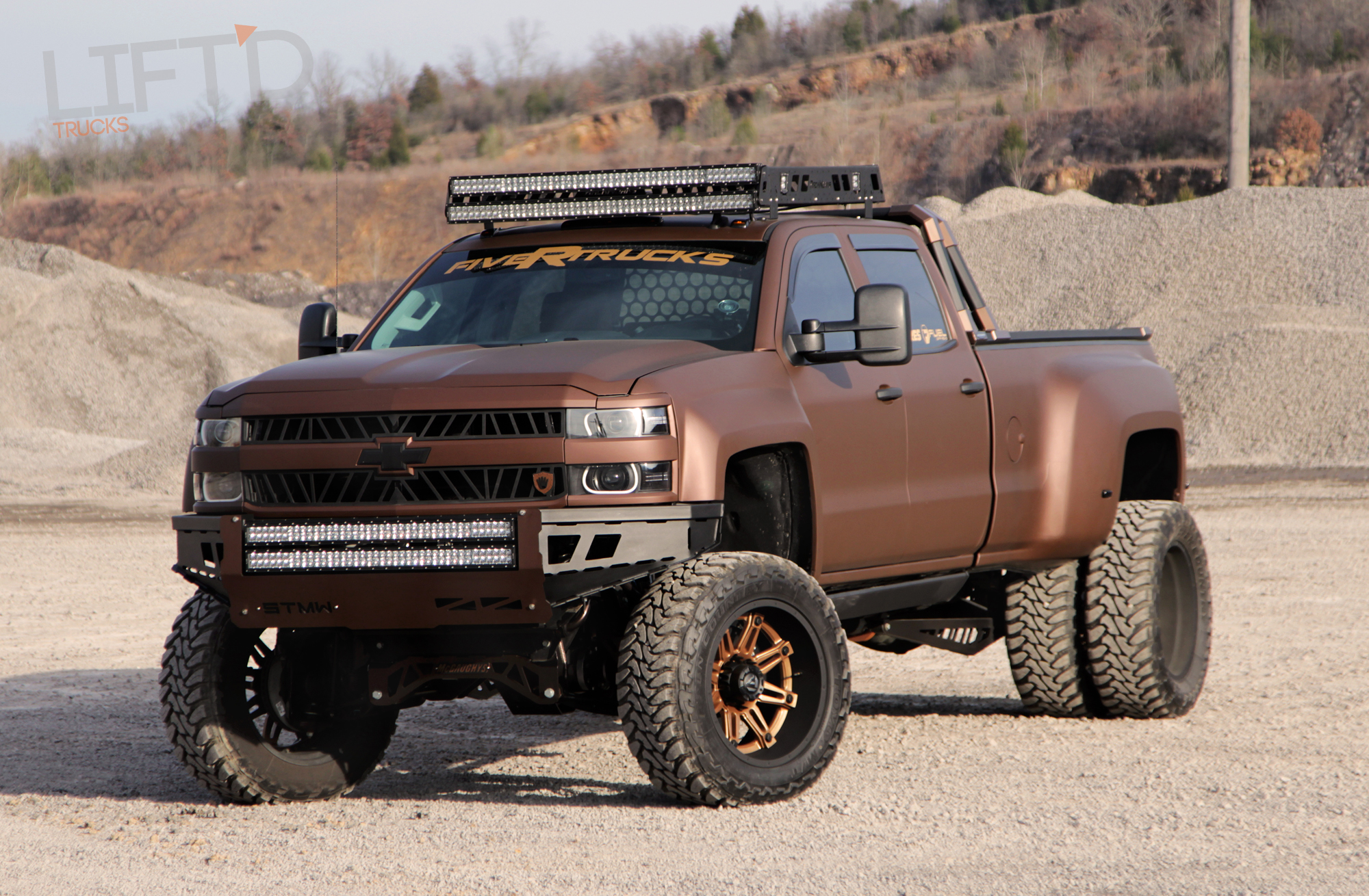 Recluse – KEG Media's 2015 Chevy Silverado HD3500 Dually