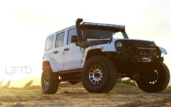 The INJEN Jeep: Heavy Breathing & Innovative Exhales